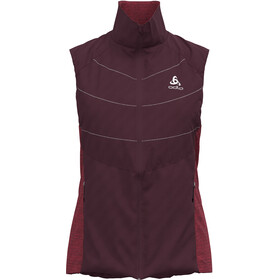 Odlo Run Easy S-Thermic Gilet Donna, rosso